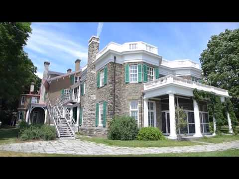 Hyde Park, New York - Home of Franklin D. Roosevelt National Historic Site - Full Tour HD (2016)