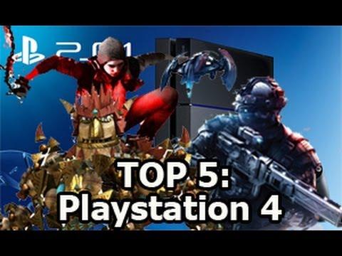 Top 5 Los 5 Mejores Juegos Para Playstation 4 Ps4 2013 2014