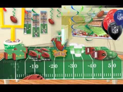Awesome Football Decorating Ideas