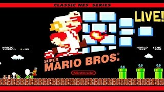 Super Mario Bros.   Full Playthrough   Live Gameplay!