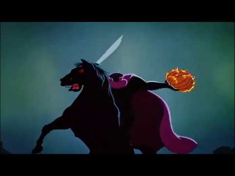 Ichabod and Mr. Toad (1949) The Headless Horseman - YouTube Disney Headless Horseman