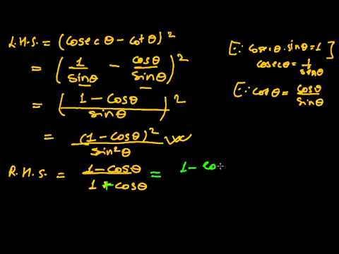 Trigonometric Functions of Any Angle from YouTube · High Definition · Duration:  14 minutes 57 seconds  · 137.000+ views · uploaded on 10.11.2011 · uploaded by ProfRobBob