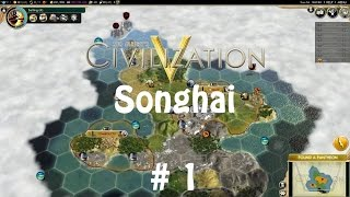 Civilization V: Songhai on Immortal - Domination Victory Not Optional! #1