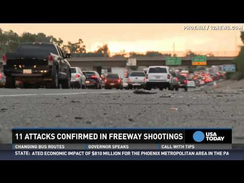 11th shooting confirmed along Phoenix interstate