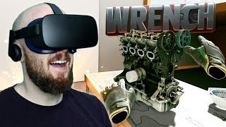 Build An Engine In Virtual Reality! Wrench VR Oculus Rift Gameplay