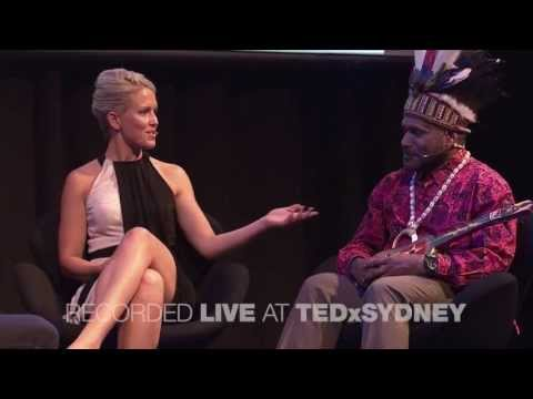 TEDxSydney 2013 Chat With Jennifer Robinson & Benny Wenda