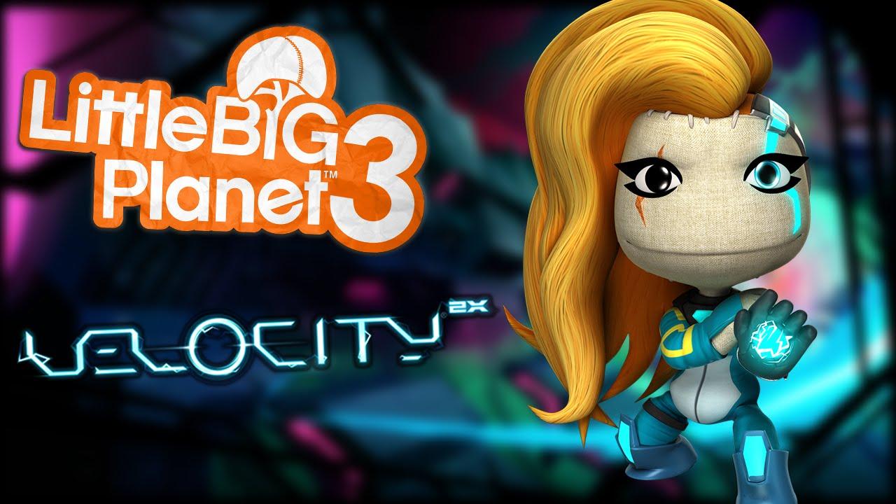 LittleBigPlanet 3 - Velocity 2X Costume DLC!