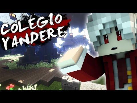 Colegio Yandere | FIESTA CON CHICAS (Historia en Minecraft) #5 | CILIO