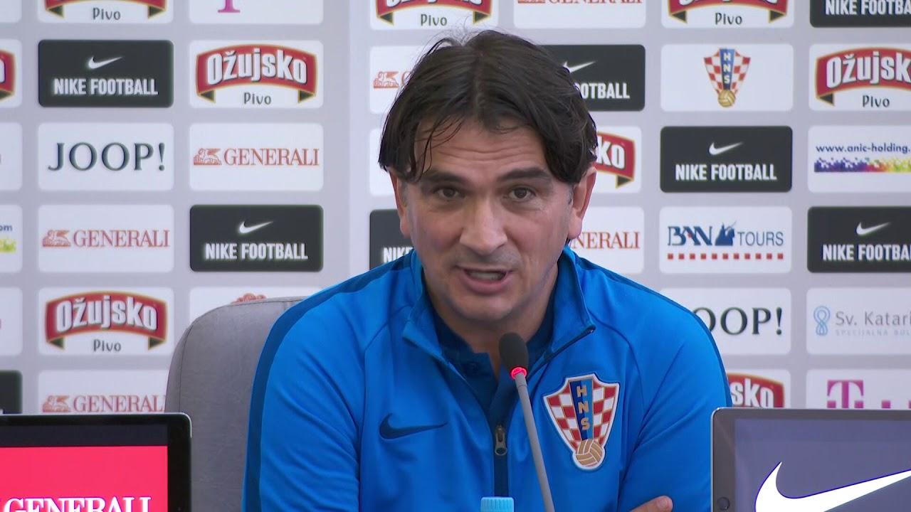 Izbornik Dalić na konferenciji za medije u Moskvi