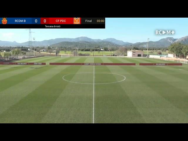 RCD MALLORCA B vs CF PLATGES DE CALVIÀ