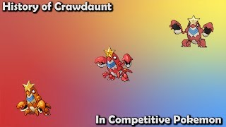 How GOOD was Crawdaunt ACTUALLY? - History of Crawdaunt in Competitive Pokemon (Gens 3-7)
