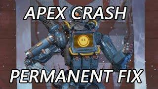 How I Permanently fixed Apex Crash to desktop