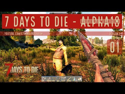 A Lot To Learn 7 Days To Die A18 Let S Play Gameplay S1 01
