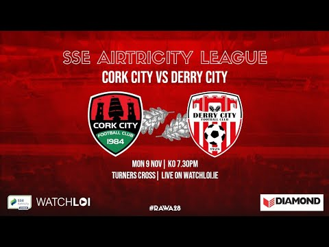 Cork City Derry City Goals And Highlights