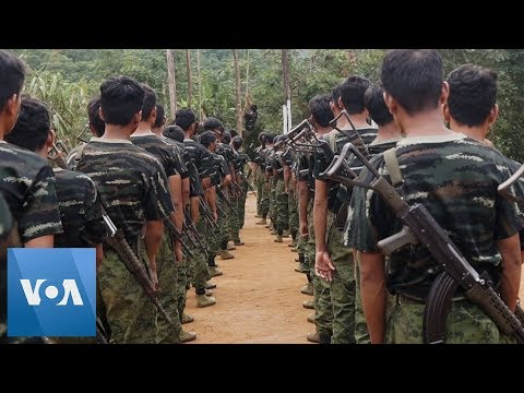 Arakan Army Recruits Train To Fight Myanmar Government Forces