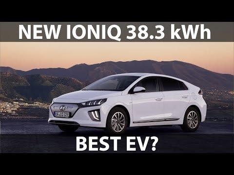 New Hyundai Ioniq 38 kWh announced - YouTube