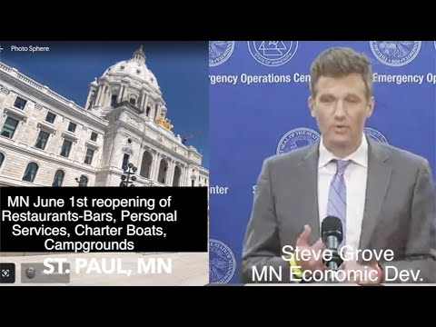 MN June 1 Reopening Guidelines: Bars-Restaurants, Personal Services, Charter Boats & Campgrounds