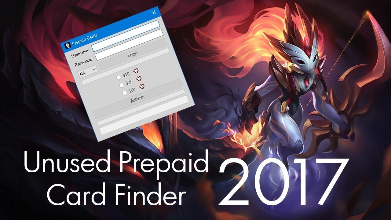 Prepaid Card Codes League Of Legends Free | Cardfssn org
