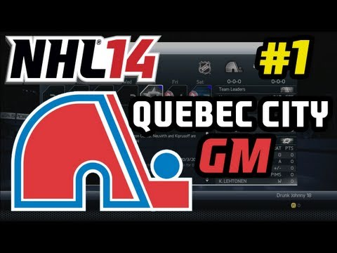 NHL 14: Quebec GM Commentary