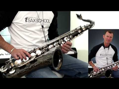 Smooth Operator How to play on Saxophone Lesson - 동영상