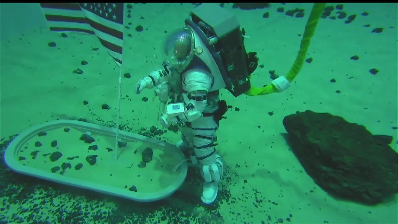 NASA Neutral Buoyancy Laboratory Z2 Suit Test Run Social Media Event - September 25, 2020