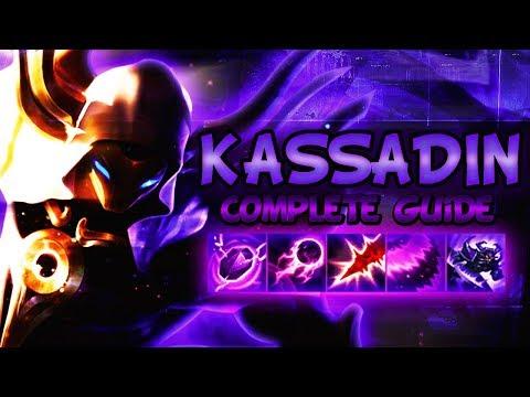 BEST KASSADIN GUIDE [FULLY DETAILED] - ONE SHOT, BEST COMBOS U0026 OUTPLAYS - League Of Legends