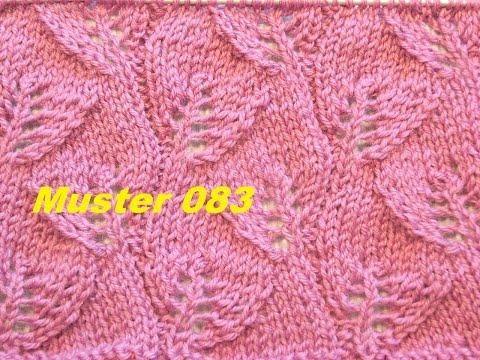 Muster 083**Stricken Lernen* Muster Für Pullover Strickjacke Mütze Stirnband