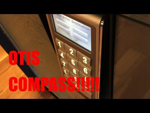 OTIS COMPASS Plus Elevators at the Park Avenue West Tower, Portland, OR