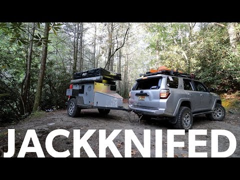 Ep45 - Watercrossings and Overlanding in a 4Runner - day 2 to expo east