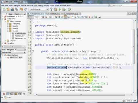Java - Using Library Classes