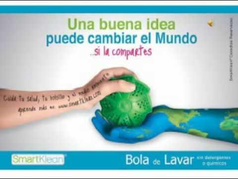 6300a6333 SMARTKLEAN:BOLA DE LAVADO ECOLOGICA - YouTube