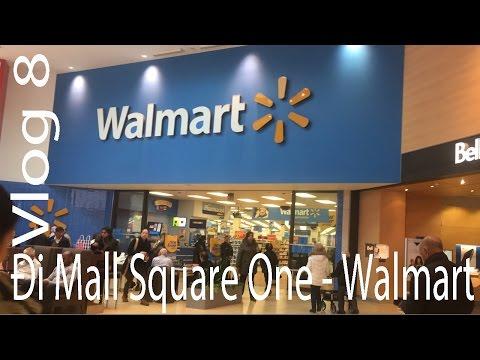 Cuộc Sống Canada   Vlog #8: Đi thăm Mall Square One - Walmart.