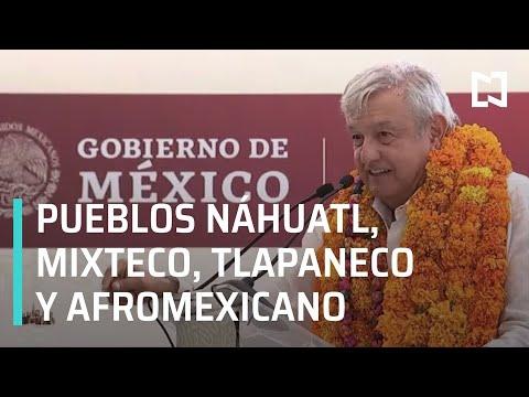 Diálogo con los Pueblos Náhuatl, Mixteco, Tlapaneco y Afromexicano