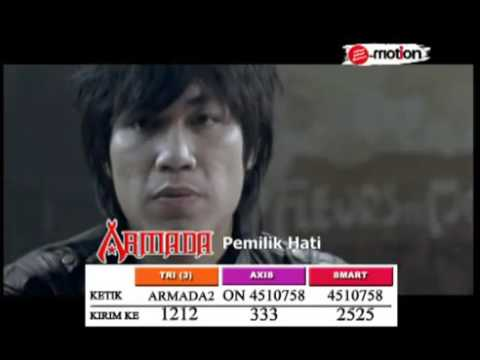 Armada   Pemilik Hati Official Video