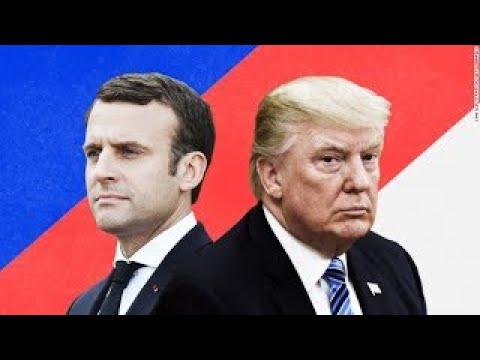 LIVE: President Donald Trump Arrives at the Élysée Palace Welcome ceremony