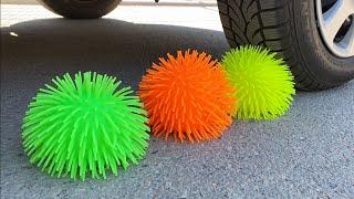 Crushing Crunchy & Soft Things by Car!  EXPERIMENT Car vs Doodles Balls.jpg