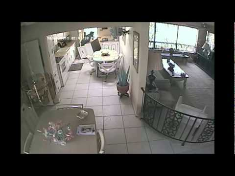 free standing cabinets for kitchen rolling cart amazing videos caught on tape:falling cabinet ...