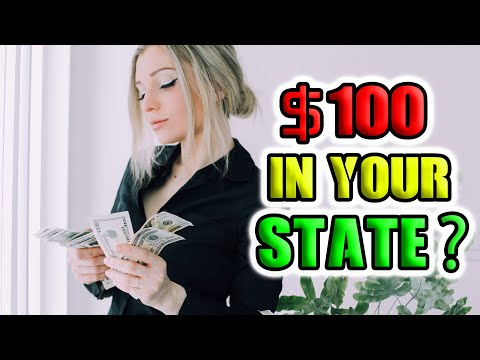 What Is The Real Value Of $100 In Your State? (All 50 States)