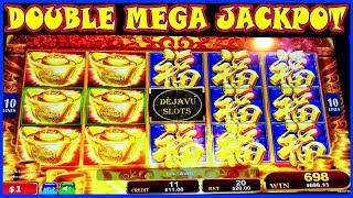 🔮 LAST SPIN ❗️  DOUBLE MEGA JACKPOT 🔮 RED FORTUNE 😜 GONE WILD 😜 High Limit Slot Machine