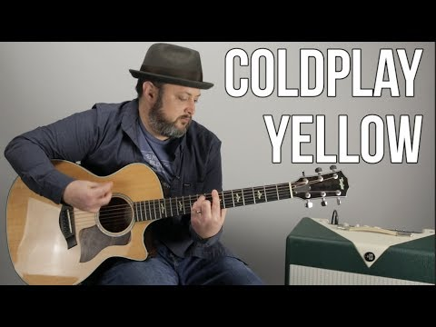 """How To Play """"Yellow"""" By Coldplay On Guitar"""
