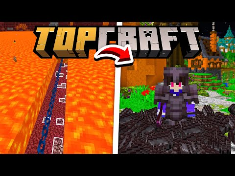 O MÉTODO PARA ACHAR NETHERITE INFINITO (infalível) - TopCraft Ep.34 (Minecraft 1.17)