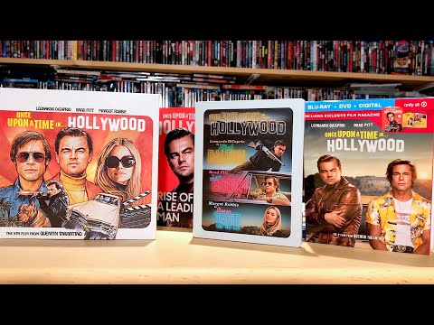 Unboxing Once Upon A Time In Hollywood On 4K Ultra HD & Blu-ray (Walmart, Target, Best Buy Editions)