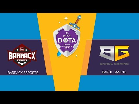 Jenius DOTA 2: Barracx vs Barol Gaming - Online Tournament 2017 - Playoff day 4