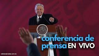 Conferencia de AMLO hoy en vivo (desde las 7 am) #ConferenciaPresidente thumbnail