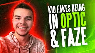 KID FAKES BEING IN OPTIC AND FAZE