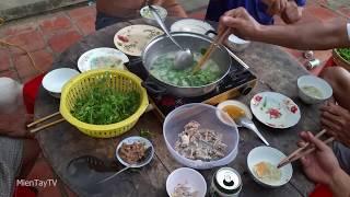 Ăn cháo ếch buổi chiều cùng gia đình [Miền Tây TV]