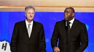 Download Magic Johnson & Larry Bird - Lifetime Achievement Award - 2019 NBA Awards Mp3 and Videos