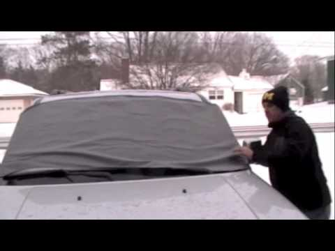 Windshield Cover- Protects against Snow, Ice, and the Sun.