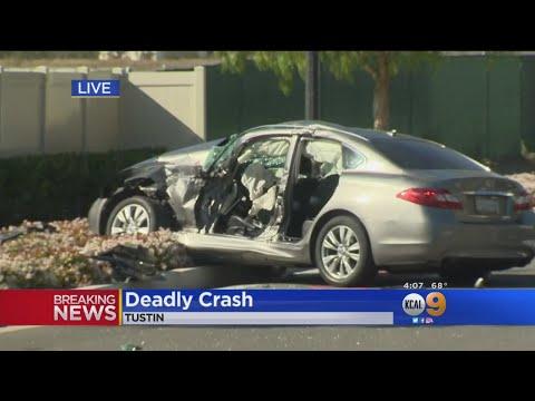1 Teen Dead, 6 People Hurt In Crash In Tustin