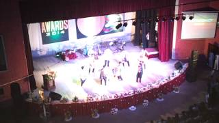 Dharmaraja College Dancing Troupe 2014 colours night